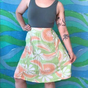 🌈 CHOOSE 3 for $30 Y2k cantaloupe midi skirt